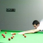 Ronnie O'Sullivan at the Grove Academy