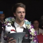 Judd wins the International Championship 2012