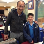 Young table tennis hot prospect Ethan Walsh joins the Grove
