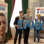 Jack supports Teenage Cancer Trust's fundraising campaign in Bristol.