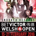 Welsh Open 2016 – Neil makes it to the Final