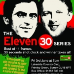 Eleven30 Series – Event 1 – 3 June 2016