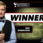 Riga Masters 2016 – Neil wins the season opener