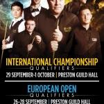 International Championship 2016 – Last 128