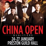 China Open 2017 – Qualifiers