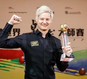 Neil wins the Hong Kong Masters 2017
