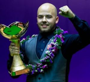 Luca wins the China Championship 2017