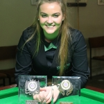 Double Trophy for Emma Parker
