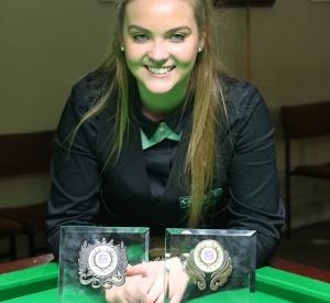 Double Trophy for Emma Parker