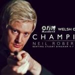 Neil Robertson wins the 2019 Welsh Open