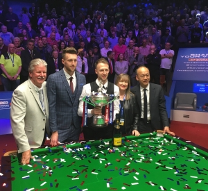 Judd Trump is the 2019 World Snooker Champion!