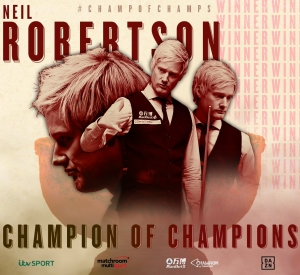 Neil Robertson is the 2019 Champion of Champions