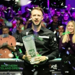 Judd Trump defends his Northern Ireland Open title
