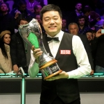 Ding Junhui joins the Grove
