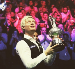 Neil Robertson is the 2020 World Grand Prix Champion