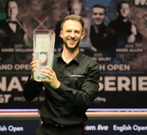 Judd Trump is the 2020 English Open Champion