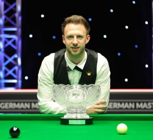 Judd Trump defends his German Masters Title
