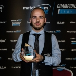 Luca Brecel wins the Championship League Snooker 2020